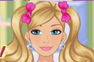 Barbie Home Breakfast Dress up Game