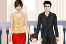 Celebrity Family Dress Up