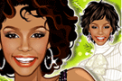 Whitney Houston Dress Up Game